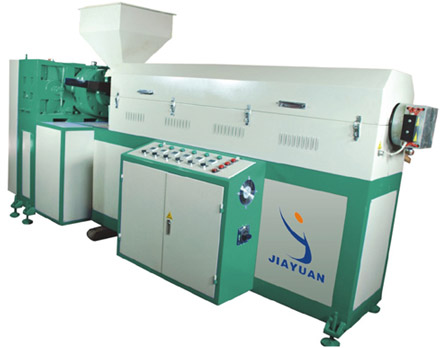 High viscidity Hot melt extruding coating system