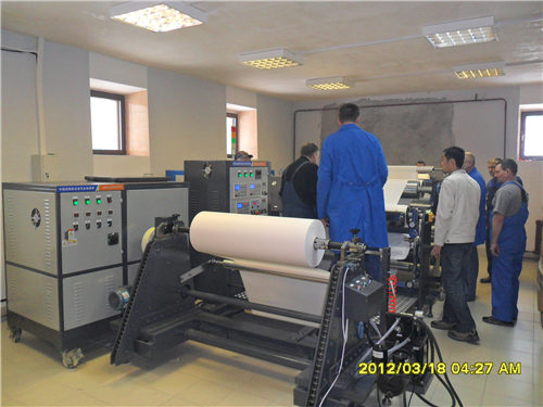 Multi function medical tape coating machine