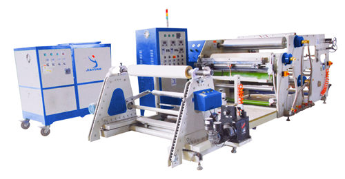Label hot melt coating machine
