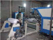 Toe puff/back counter making machine